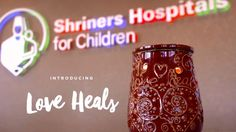 The Love Heals warmer is Scentsy's charitable cause warmer for fall/winter 2016.