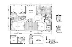 Triple wide mobile home floor plans double wide home for 5 bedroom double wide floor plans