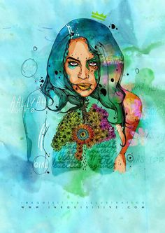Aaliyah - Inkquisitive Illustrations