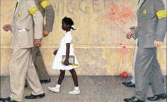 "Norman Rockwell's ""The Problem We Live With"", 1964"