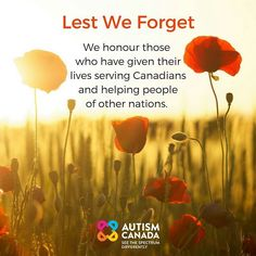 We will always remember. #RemembranceDay