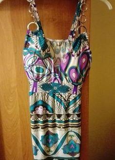 Kup mój przedmiot na #vintedpl http://www.vinted.pl/damska-odziez/koszulki-na-ramiaczkach-koszulki-bez-rekawow/17774672-kolorowa-bluzka-z-duzym-dekoltem-i-oryginalnym-wzorem-na-lato