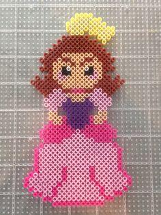 Anastasia from Disney Cinderella's evil step sister perler bead