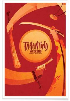 Tarantino Weekend als Premium Poster von Sean Loose | JUNIQE