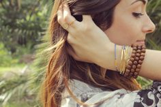 Festival Essential: The Bracelet(s) >> #NotToWorryBeads your must have bracelet for #festival season #dogeared