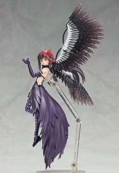 Amazon.com: Good Smile Puella Magi Madoka Magica: The Rebellion Story: Devil Homura Figma Action Figure: Toys & Games