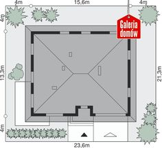 GALERIADOMOW.PL House Plans, Floor Plans, How To Plan, Houses, House Floor Plans, Home Floor Plans, Home Plans