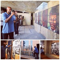 Coach Monty Williams paid a visit to the Apartheid Museum in Johannesburg, South Africa during his Basketball Without Borders visit this week.