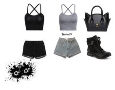 """""""Untitled #29"""" by yaira21 ❤ liked on Polyvore featuring Topshop and American Apparel"""