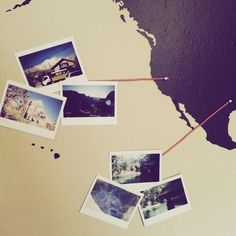 Wil je iets doen met je vakantiefoto's of foto's van je wereldreis? Maak een polaroid fotomuur van je reis! We delen 12 creatieve ideeën voor je fotomuur.