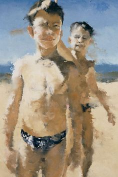 Figure Painting, Painting & Drawing, Philippe Cognée, Modern Art, Contemporary Art, People Figures, Encaustic Art, Art Abstrait, Gay Art