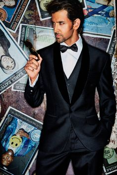 Tuxedo will be the best choice for a Formal Reception party and it suits any attire your bride wears