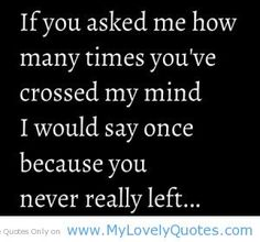 really+long+cute+crush+quotes | You've crossed my mind cute love quotes - My Lovely Quotes