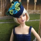 Whimsical Hats for Barbie  - via @Craftsy