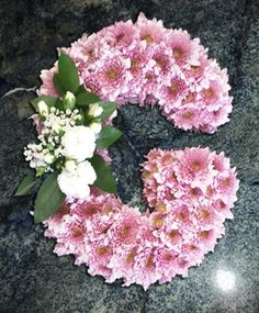 These funeral arrangements are the perfect addition to her funeral or memorial service. Grave Flowers, Cemetery Flowers, Funeral Flowers, Wedding Flowers, Funeral Floral Arrangements, Flower Arrangements, Funeral Sprays, Cemetery Decorations, Funeral Tributes