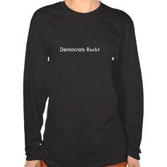 Democrats Rock! Tshirts