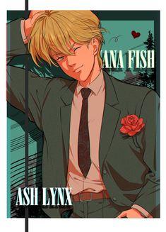 Yasuko @KoyasuYasuko12 Manga Anime, Anime Guys, Anime Art, Fish Wallpaper, Fish Art, Lynx, Aesthetic Anime, Wall Prints, Cute Art