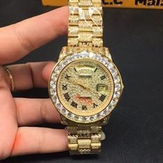 check out Iced Out Yellow 1... at http://www.benzinoosales.com/products/iced-out-yellow-18k-gold-rolex-with-simulated-lab-diamonds?utm_campaign=social_autopilot&utm_source=pin&utm_medium=pin + 10% OFF nd #FREESHIPPING !!      #designer #shopping #rolex #aesthetic #jewelry #cloth
