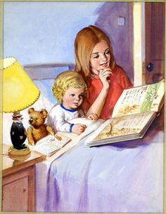 StoryTime (Original) art by Roger Hall