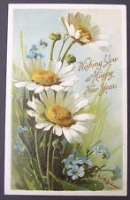 a/s Catherine Klein Beautiful Daisies & Little Blue Flowers embossed pc 1909