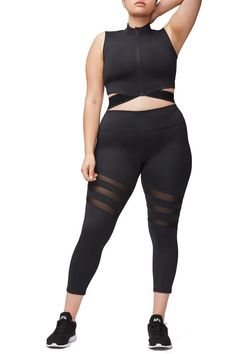 54440248fc3 Get Your Workout On with Good American Activewear ALSO Available In Plus  Sizes! https