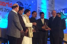 """EPC World Media Group, honoured  Mr Sushil Ansal Chairman Ansal API for a  """"Lifetime Achievement Award in Real Estate & Construction"""" during the 5th EPC World Awards 2014. In the light of an exceptional contribution in the Real Estate Sector."""