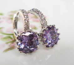 New Tanzanite Simulated Cubic Zirconia by HisJewelsCreations
