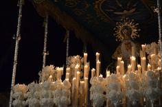 Fotografía de Estefanía Baeza Galindo. Virgen de la Esperanza, Martes Santo -Ciudad Real-. Realizada con cámara
