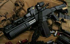 Tactical shotgun 12g