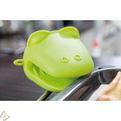 Topfhandschuh  Silikon 2 St.  Frosch, Küche, Backen, Kochen, Handschuh, Ofen