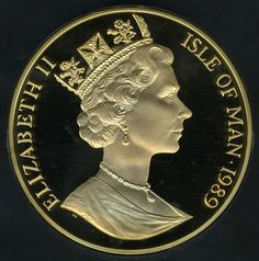 largest gold coin Isle of Man Angel Gold Coin 1989