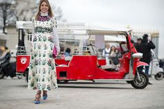 Helena Bordon in Valentino | PFW