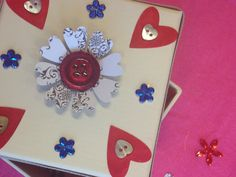 Decorative boxes http://makedomenders.co.uk/party/craft-hen-party/