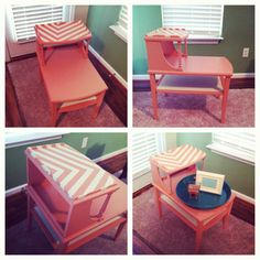 DIY chevron furniture