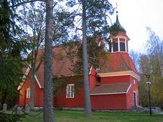 Angelniemen kirkko ja tapuli. Kuva: MV/RHO Johanna Forsius 2007