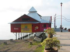 Tequila Republic on the shore of Lake Chapala in Ajijic, Mexico.