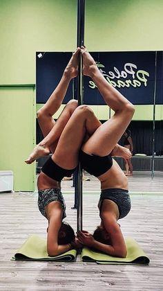 Pole Dance Moves, Pole Dancing Fitness, Pole Fitness, Barre Fitness, Fitness Exercises, Dance Flexibility Stretches, Flexibility Workout, Pole Tricks, Barre Workout