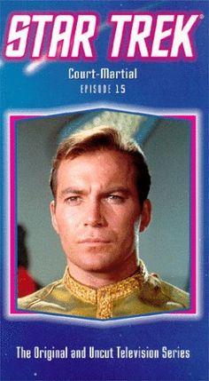 Star Trek - The Original Series Episode 15: Court-Martial [VHS] @ niftywarehouse.com #NiftyWarehouse #StarTrek #Trekkie #Geek #Nerd #Products