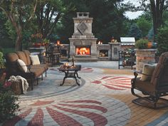 """Get excellent suggestions on """"patio pavers on a budget"""". They are actually available for you on our web site. Get excellent suggestions on patio pavers on a budget. They are actually available for you on our web site. Paved Backyard Ideas, Patio Ideas, Garden Ideas, Pool Ideas, Paver Designs, Paving Design, Patio Layout, Outdoor Living, Outdoor Decor"""