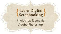 Learn Digital Scrapbooking online class taught by Linda Sattgast (Adobe's Official Scrapbooking Expert) - an amazing class!