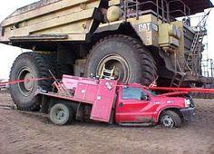 That's a big truck