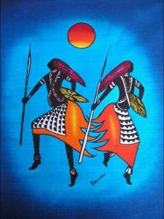 Olhe sempre para frente, enfrente os obstáculos e vença!: ARTES - AFRICANAS