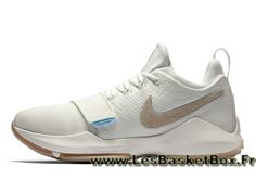 newest collection b5e4d ae8aa Basket Nike PG 1 ´Summer Pack´ 878627 110 Homme officiel Nike Basket Blanc  - 1705150844