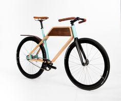 Wood bike from Ruphus in Portland