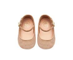 ZARA - MINI - Leather maryjane ballerina shoes- Yep, GG needs these!
