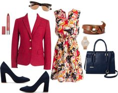 What I Wish I Wore, Vol. 148 - Dark Fall Florals | Style On Target blog