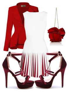 """""""Happy Birthday!!!"""" by kristina-lindstrom ❤ liked on Polyvore featuring Alaïa and Nina Ricci"""