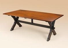 Saw Buck Table. Perfect for a Farmhouse.