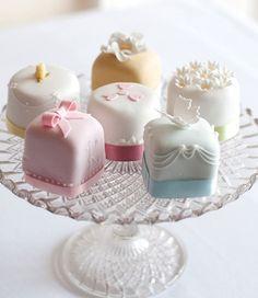Estos cupcakes serán los invitados de honor en mi boda
