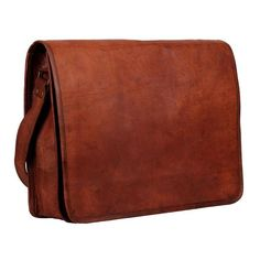 Purchase the most unique looking distressed leather laptop messenger bag for men and women. It can carry upto 13 inch laptop, macbook or notebook.